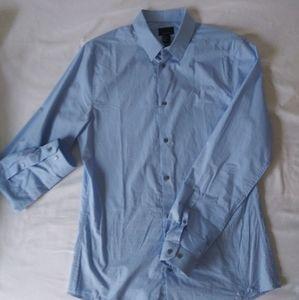 Men dress shirt light blue